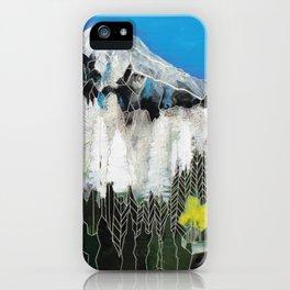 The Snow Line iPhone Case
