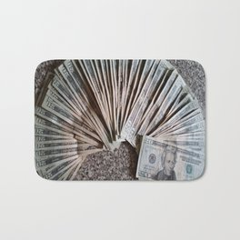History and Money Bath Mat