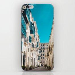 Hidden Street - Valletta, Malta iPhone Skin