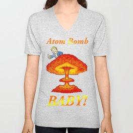 "Fallout 4 ""Atom Bomb Baby!"" Unisex V-Neck"