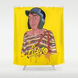 El Chavo del Ocho - Chespirito Shower Curtain