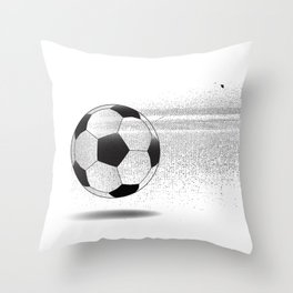 Moving Football Throw Pillow