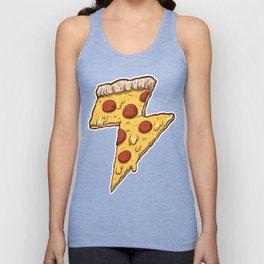 Thunder Cheesy Pizza Unisex Tank Top