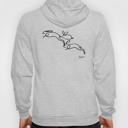 Rabbits Line Drawing, Animals Sketch Artwork, Pablo Picasso, Tshirts, Prints, Posters, Bags, Women, Hoody