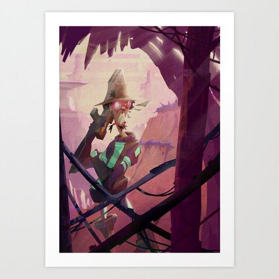 The Bounty Hunter Art Print