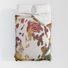 Watercolor Dalmatian Dog Comforters