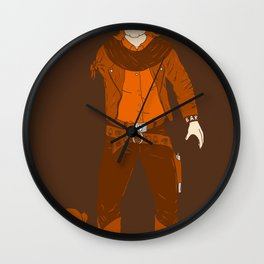 One Armed Bandit Wall Clock