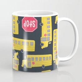 Bus Pattern Coffee Mug