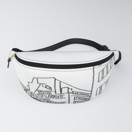 Brussels city - The Future is ... Fanny Pack