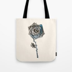 Royal Blue Rose Tote Bag