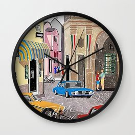Call me by Your Name Drawing Wall Clock