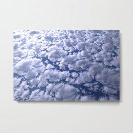 counting clouds Metal Print