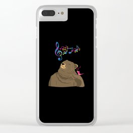 I See Music Clear iPhone Case