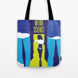 80s TEEN MOVIES :: WEIRD SCIENCE Tote Bag