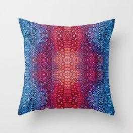 Red breach Throw Pillow