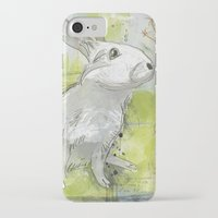 rabbit iPhone & iPod Cases featuring Rabbit by Melissa McGill