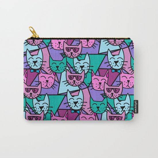 Pop Art Cats Carry-All Pouch