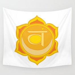 Sacral Chakra Svadhishthana Chakra Wall Tapestry