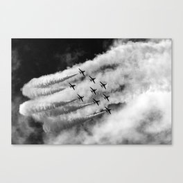 Cloud makers Canvas Print