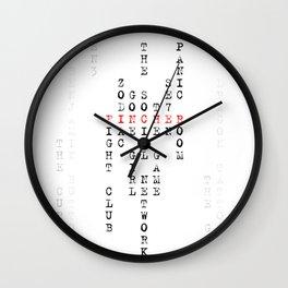 David Fincher Wall Clock