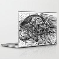 raven Laptop & iPad Skins featuring Raven by Irina Vinnik