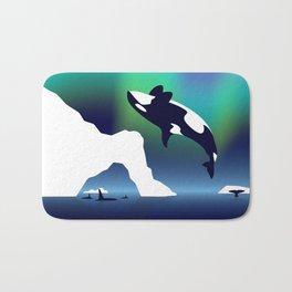 Paper Craft Orca Bath Mat