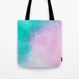"""Turquoise pink mood"" Tote Bag"