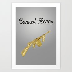 Canned Beans Art Print