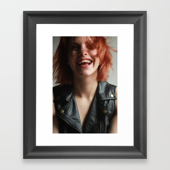 A Beautiful Smile Framed Art Print