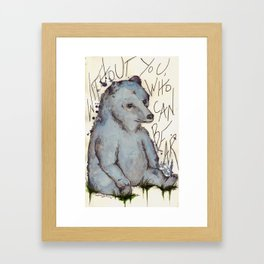 No One Lord! Framed Art Print
