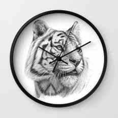 White Tiger G2011-003 Wall Clock
