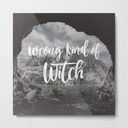 Manon Blackbeak - Wrong kind of witch Metal Print