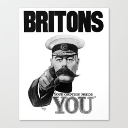 Britons Your Country Needs You - Lord Kitchener Canvas Print