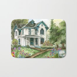 Garden House Bath Mat