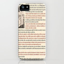 Good Wife's Guide iPhone Case