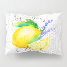 Les Citrons de Menton—Lemons from Menton, Côte d'Azur Pillow Sham