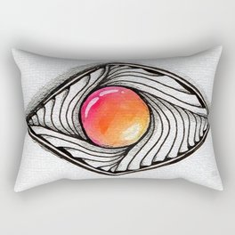 Doodled Gem Sparkle Eye Rectangular Pillow