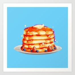 Deluxe Pancakes Art Print
