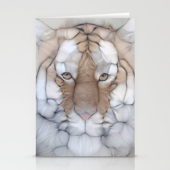 tiger wild Stationery Cards