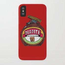 Deadite: The Evil Spread (Cap Off Version) iPhone Case
