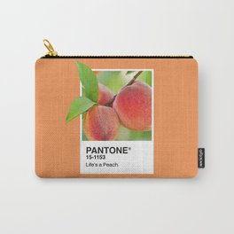 PANTONE SERIES – PEACH Carry-All Pouch