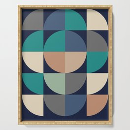 Gestalt Geometric Serving Tray