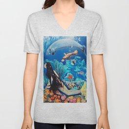 The Little Mermaid Unisex V-Neck