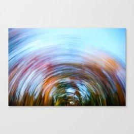 Fall Swirl Canvas Print
