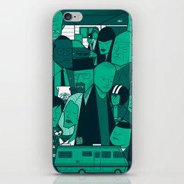Breaking Bad (green version) iPhone Skin