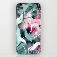 novelty iPhone & iPod Skins featuring Spring Birds by Moody Muse