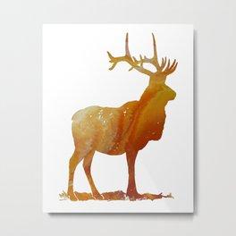 Deer Metal Print