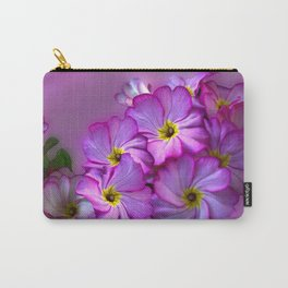 Primula Pink Twirls Carry-All Pouch
