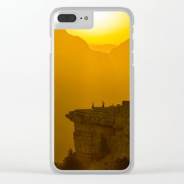 Grand Canyon sunrise Clear iPhone Case
