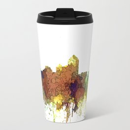 Albuquerque, NM Skyline - SG Safari Buff Travel Mug